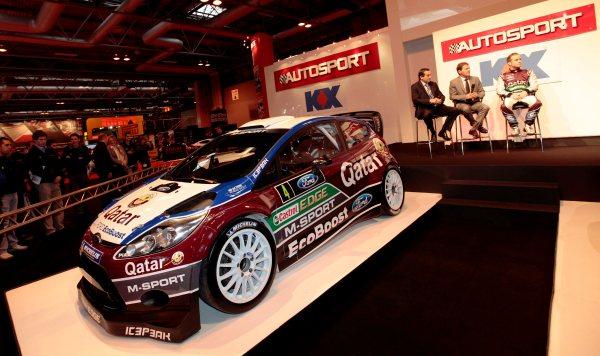 Katar M-Sport ve Castrol, 2013 Fiesta RS WRC'yi tanıttı