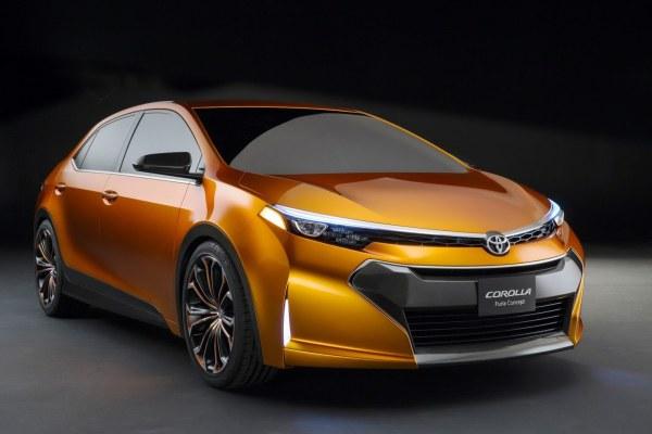 Yeni Toyota Corolla'nın ipuçları Corolla Furia konseptinde