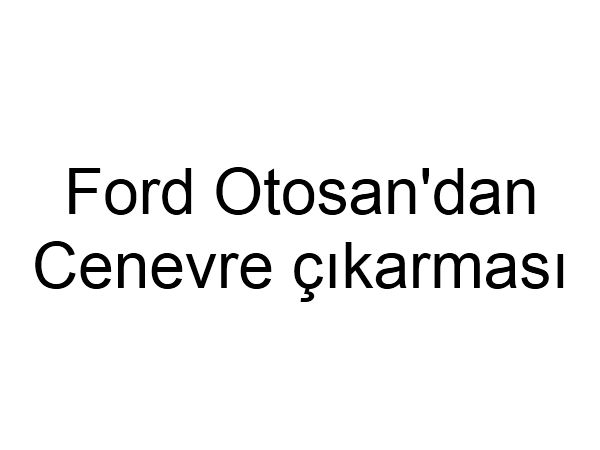 Ford Tourneo Courier 2013 Cenevre Motor Show'da sergilenecek