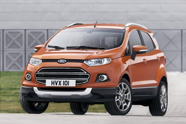 2013 Ford EcoSport Avrupa için tanıtıldı