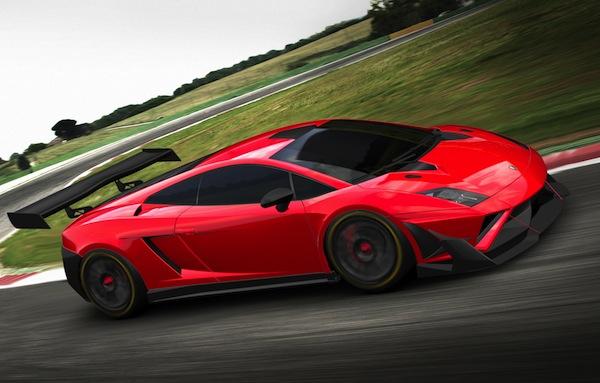 Yeni Lamborghini Gallardo GT3 FL2 piste çıkıyor