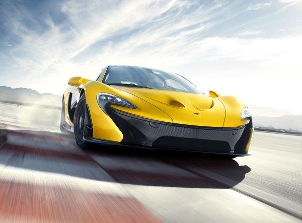 0-200 km/s 7 saniye-McLaren P1