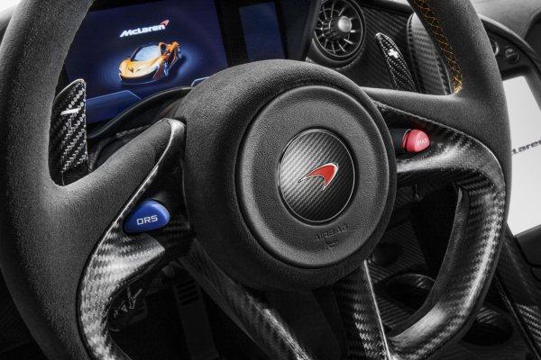 McLaren P1 ilk teknik bilgiler