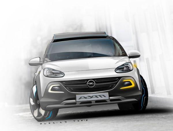 Opel Adam Rocks Concept Cenevre'de tanıtılacak