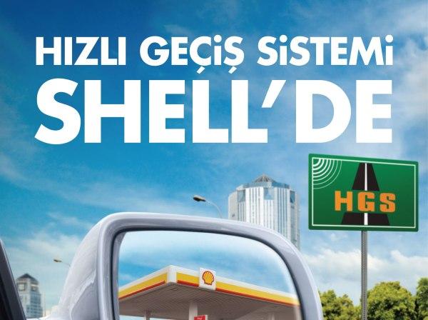 HGS artık Shell'de