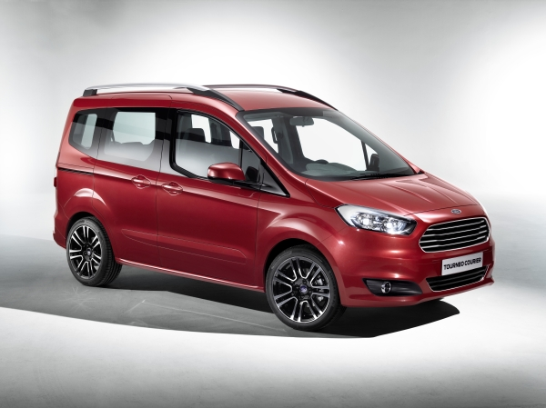 Video: Ford Tourneo Courier 2014