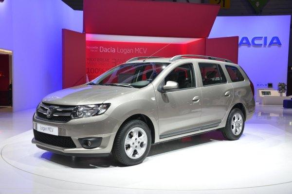 Yeni Dacia Logan MCV (station) / Cenevre Otomobil Fuarı 2013