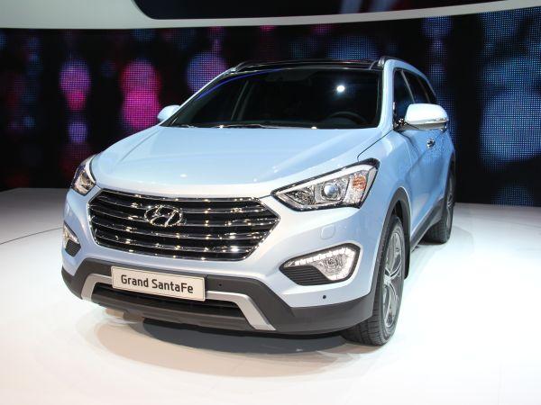 Hyundai Grand Santa Fe 2013 Cenevre'de tanıtıldı