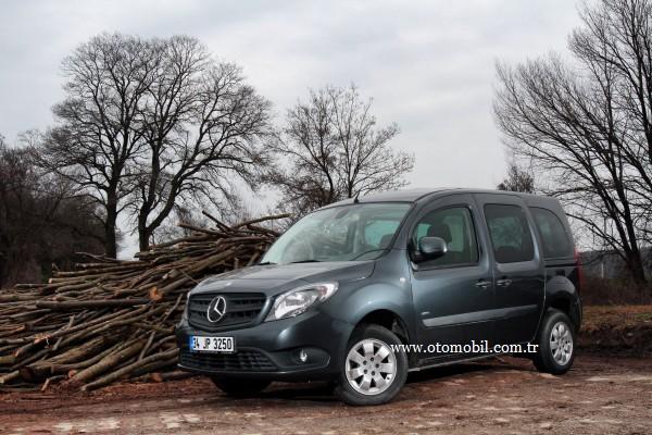 Sürüş izlenimi – test: 2013 Mercedes-Benz Citan 109 CDI Kombi