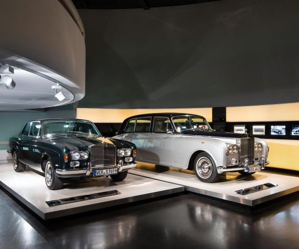 BMW Müzesi'nde ilk Rolls-Royce sergisi açıldı