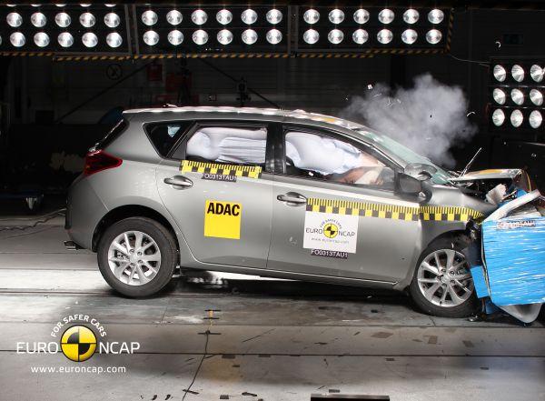 Video: Yeni 2013 Toyota Auris Euro NCAP çarpışma testi