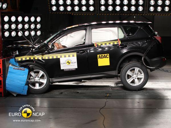 Video: Yeni 2013 Toyota RAV4 Euro NCAP çarpışma testi