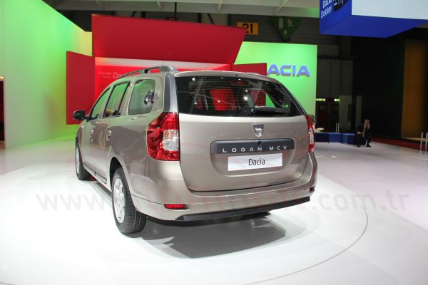 Galeri: Yeni Dacia Logan MCV 2013 Cenevre Motor Show