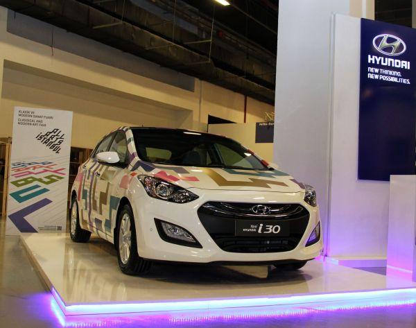 Hyundai i30'a Bülent Erkmen dokunuşu