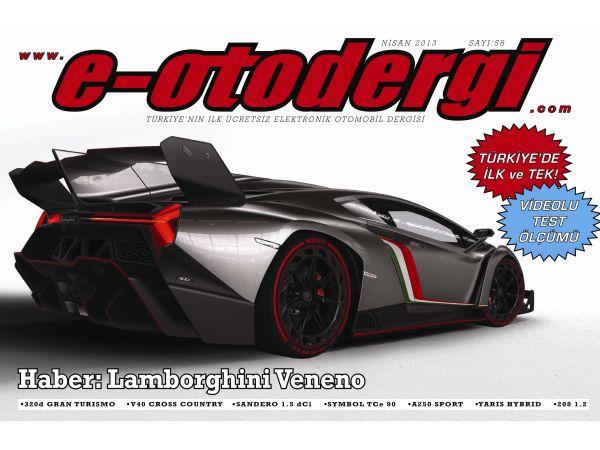 e-otodergi Nisan 2013 sayısı