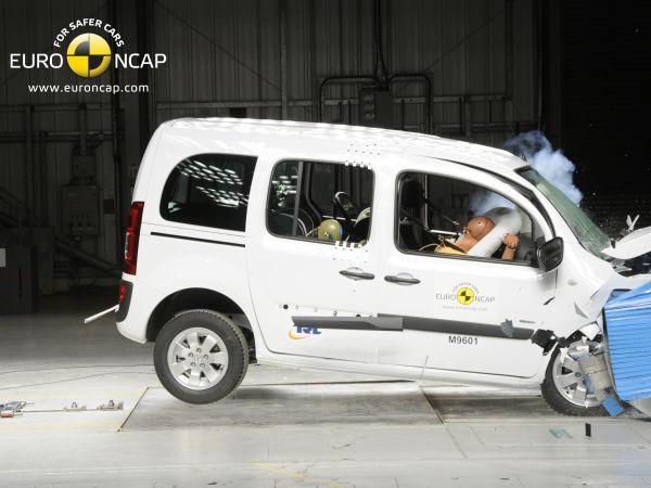 Video: Mercedes-Benz Citan Kombi Euro NCAP çarpışma testi