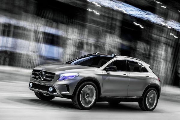 Galeri-Haber: Mercedes-Benz GLA Concept 2013