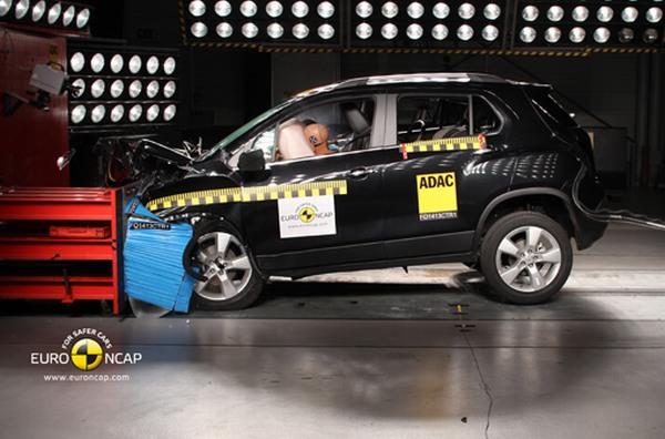 Chevrolet Trax 2013 Euro NCAP / video