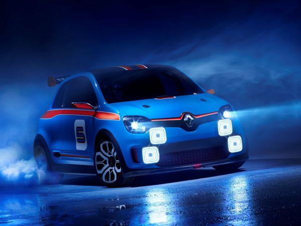 Renault Twin'Run Concept yüzünü gösterdi