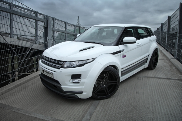 Range Rover Evoque Prior Design Widebody gövde kiti