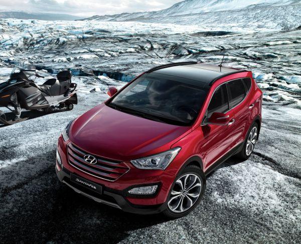Yeni 2013 Hyundai Santa Fe Türkiye yollarına çıkıyor