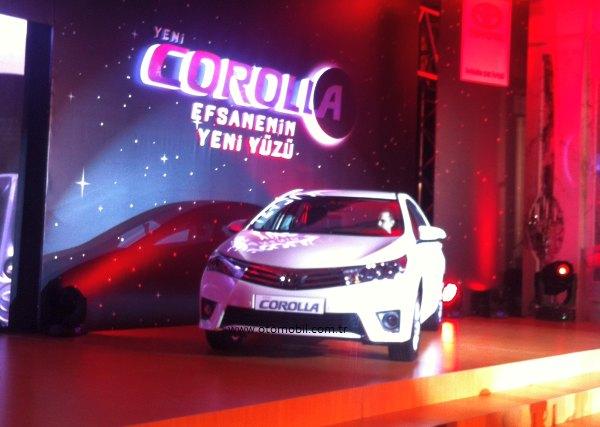 Yeni  Toyota Corolla 2013 Temmuz'da satışta