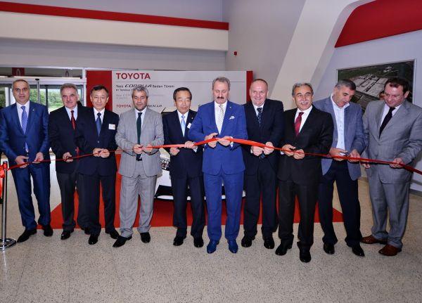 Yeni Toyota Corolla 2013 üretimi başladı