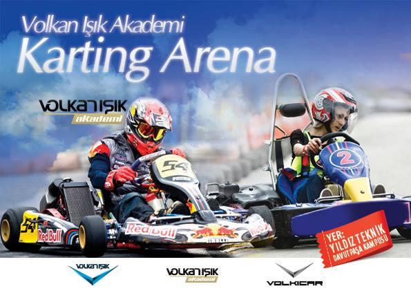 Volkan Işık Karting Arena açıldı