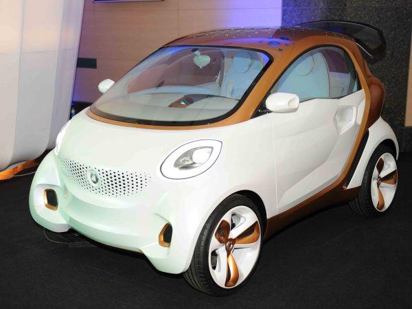 Daimler ile BASF işbirliğinden smart forvision doğdu