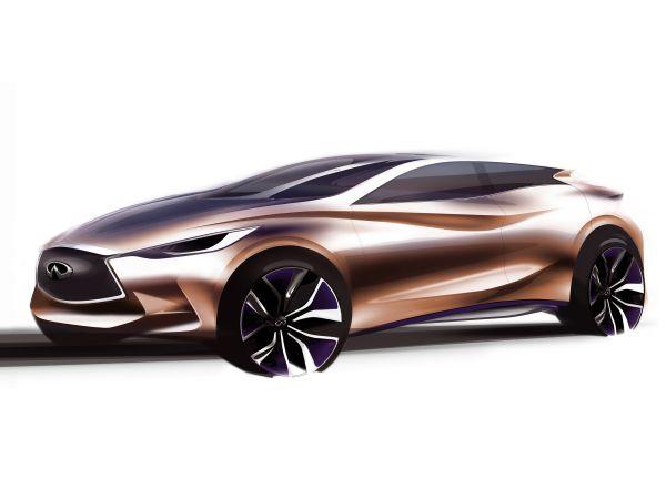 Infiniti Q30 Concept Frankfurt Motor Show 2013'te tanıtılacak