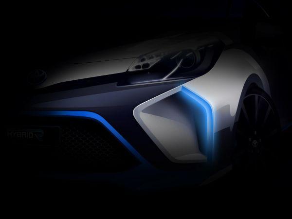 Toyota Hybrid-R Concept Frankfurt'ta sergilenecek