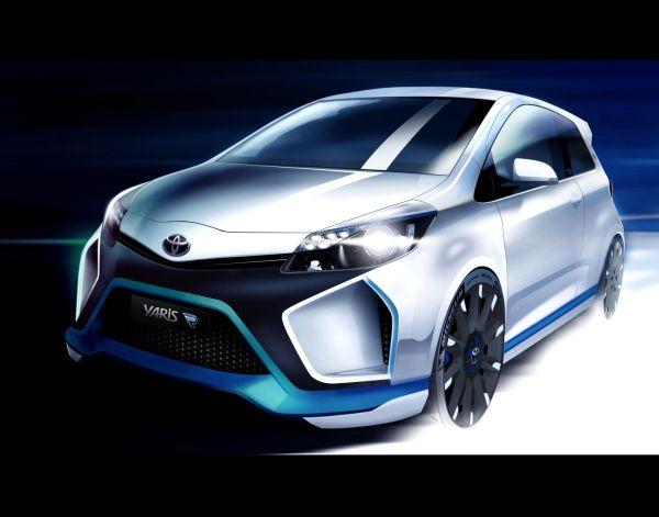 Toyota Yaris Hybrid-R Concept Frankfurt'ta tanıtılacak