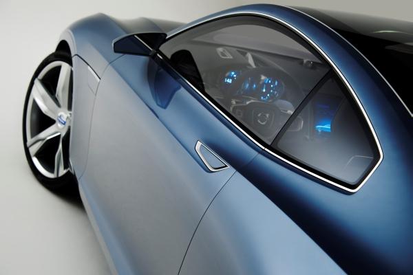 Yeni Volvo XC90 2014'ün ipuçları Concept Coupe modelinde