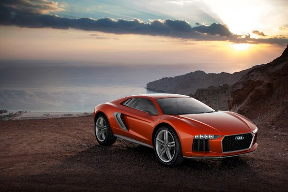 Audi nanuk quattro concept videosu