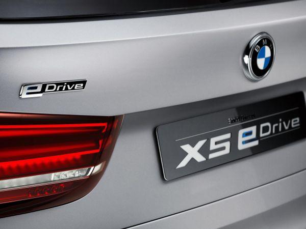 BMW Concept5 X5 eDrive Frankfurt'ta sergilenecek