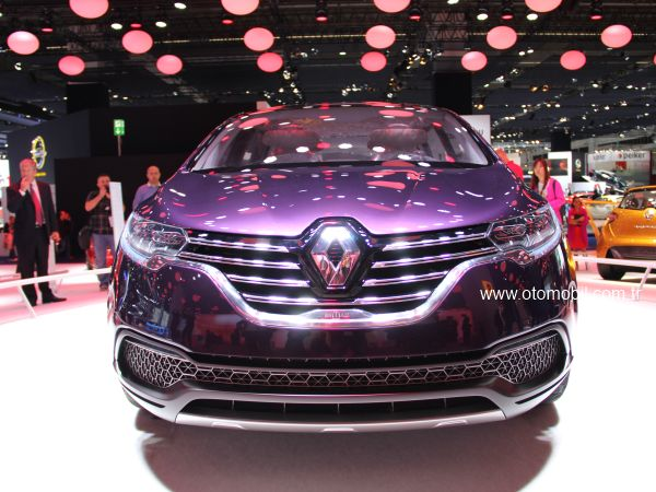 Renault Initiale Paris konsepti 2013 Frankfurt Otomobil Fuarı'nda tanıtıldı