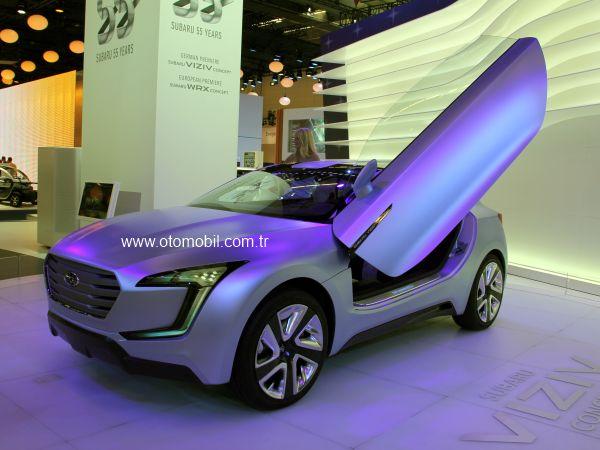 Subaru Viziv Concept 2013 Frankfurt Otomobil Fuarı videosu