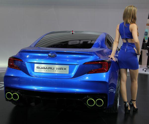 Subaru WRX Concept 2013 Frankfurt Otomobil Fuarı videosu