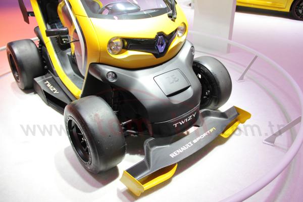 Twizy Renault Sport F1 Frankfurt Otomobil Fuarı 2013 fotoğraf galerisi