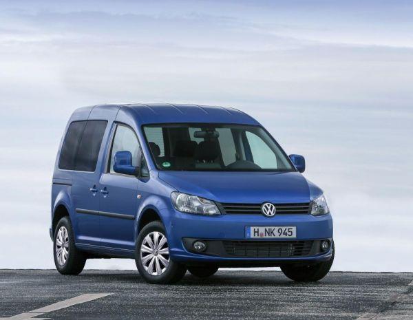 Volkswagen Caddy BlueMotion Frankfurt'u bekliyor