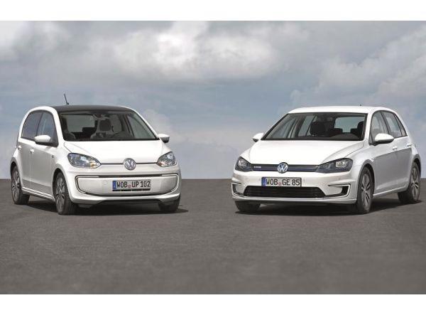 Volkswagen e-Golf ve e-up gün sayıyor