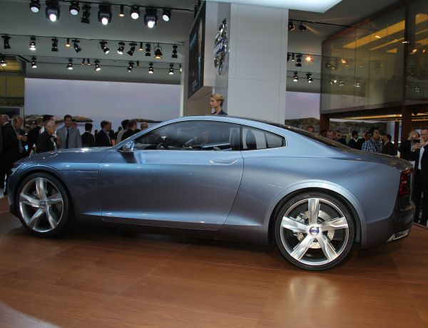 Volvo Concept Coupe 2013 Frankfurt Motor Show videosu