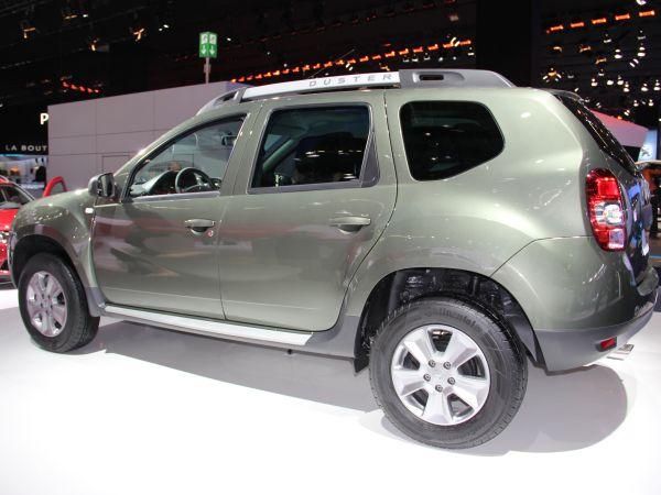 Yeni yüzlü Dacia Duster 2013 Frankfurt Otomobil Fuarı videosu