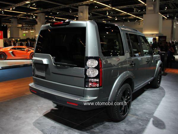 Yeni yüzlü Land Rover Discovery 2013 Frankfurt Otomobil Fuarı videosu