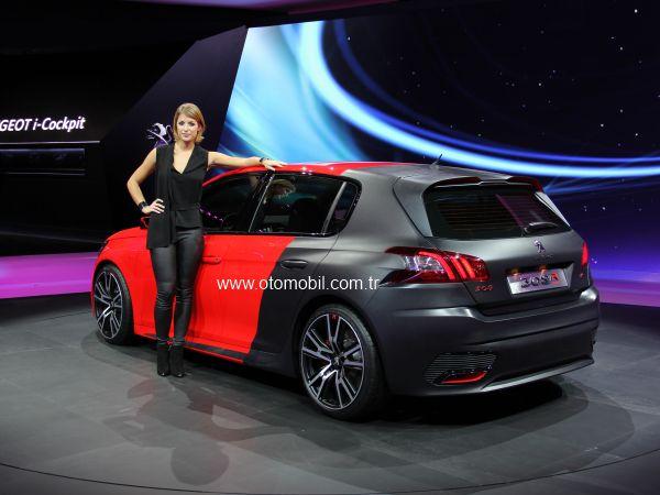 Yeni Peugeot 308 R Concept 2013 Frankfurt Otomobil Fuarı videosu
