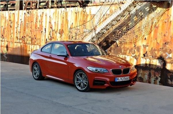 BMW 2 Serisi Coupe videosu