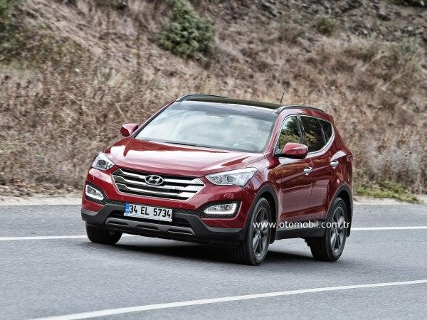 Yeni Hyundai Santa Fe 2.0 CRDi 184 HP Otomatik video test