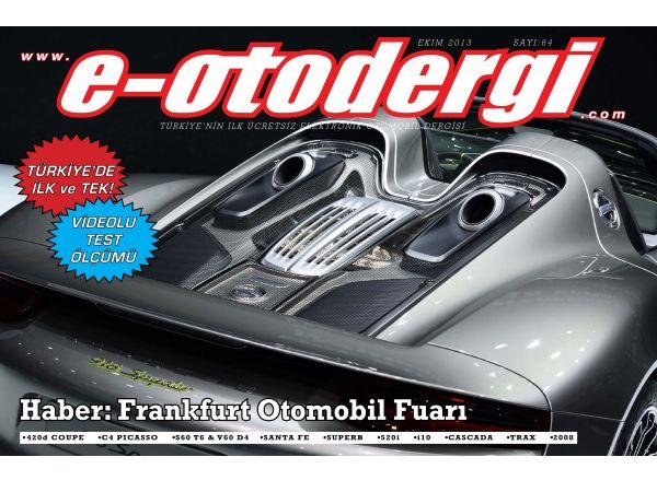 e-otodergi Ekim 2013 sayısı yayına girdi