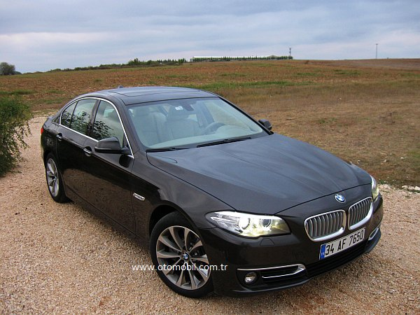 Yeni BMW 520i 1.6 Turbo 170 HP test