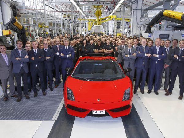 Son Lamborghini Gallardo üretildi